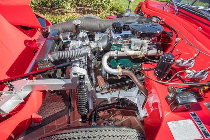 Sabra-Sport-Roadster-Ford-Consul-Engine