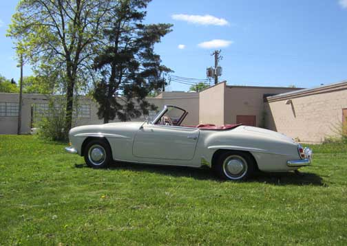 Local Vintage 1957 Mercedes 190sl Roadster Maintained By Lake Country Classics Now For Sale On Ebay Motors Dave Knows Cars