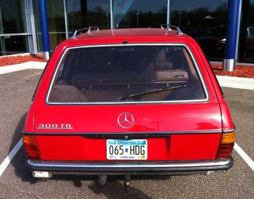 Mercedes 300TD Diesel Wagon
