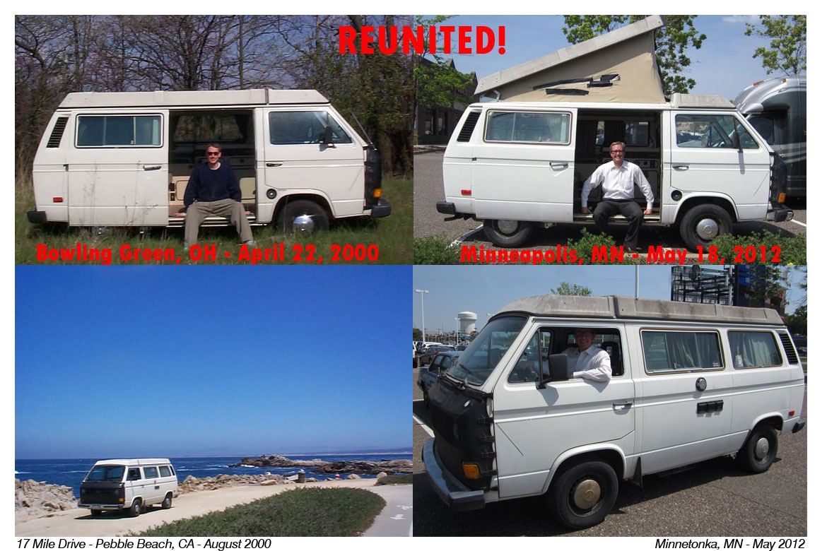 Adventure Love Loss And Redemption In Vw Bus How I Was
