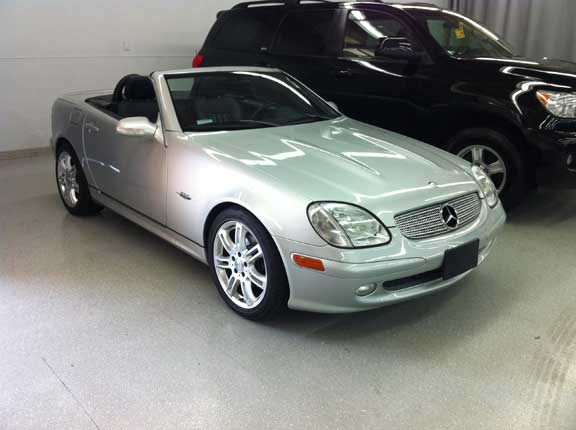 2004 Mercedes SLK-special-Edition