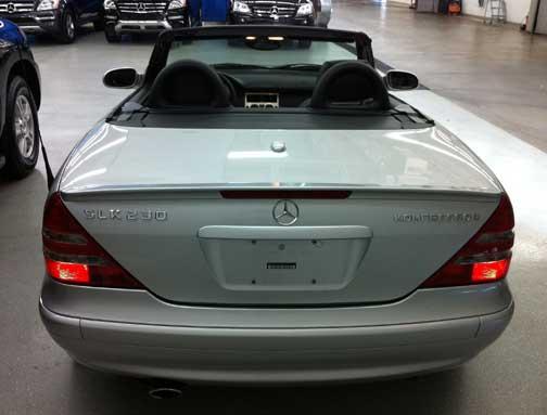 Mercedes SLK-special-Edition