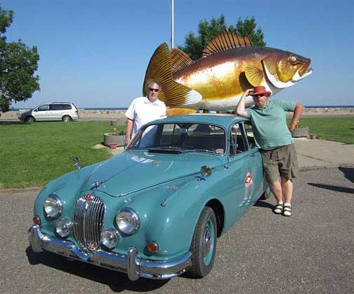 walleye-1000-vintage rally Jaguar
