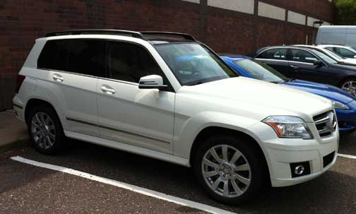 2012 Mercedes Benz GLK350 Arctic White