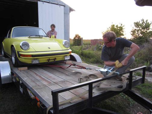 David Tobin Porsche 911