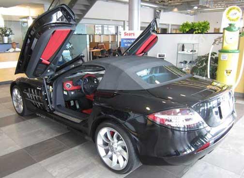 Used SLR McLaren Roadster