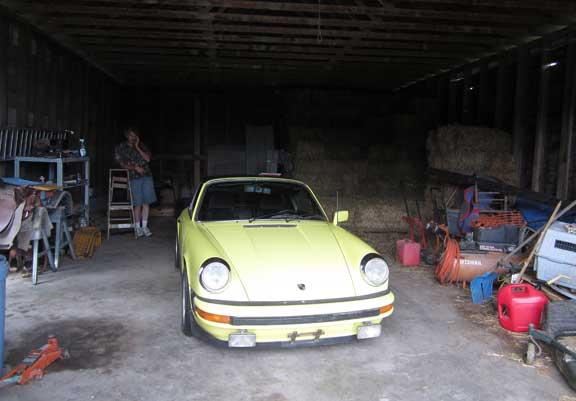 vintage Porsche 911 project
