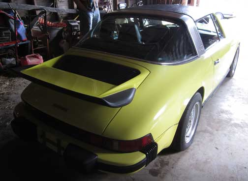 1976 Porsche 911S Targa For Sale