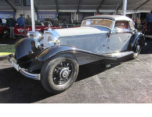 Arizona collector car auction report preview mercedes for 2 5 million mercedes benz