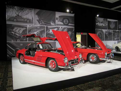 300SL Gullwing and Roadster RM Auctions Scottsdale