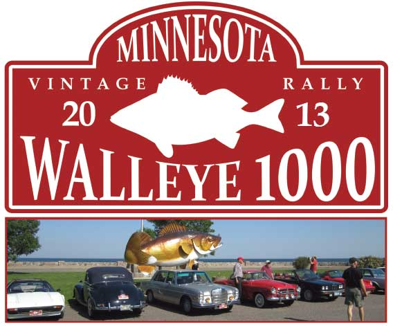 walleye 1000 vintage rally