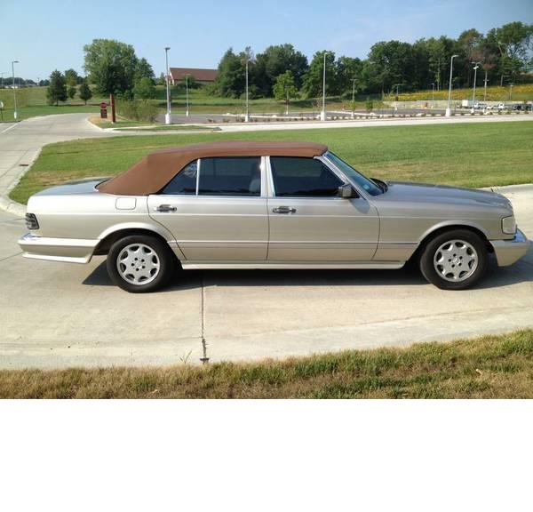 1986-Mercedes 560SEL-Convertible-