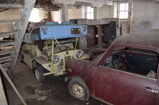 Austin Mini Moke Collection Barn Find