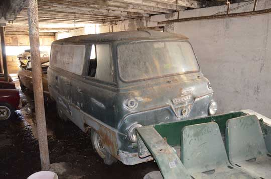 Barn Find Thames Frieghter