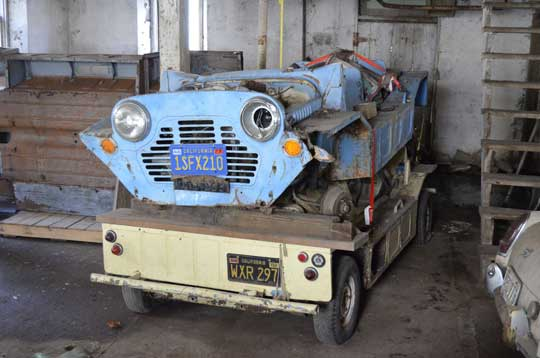 Barn Find Austin Mini Moke