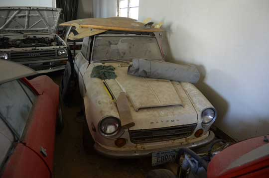 Barn Find Datsun 2000 Roadster