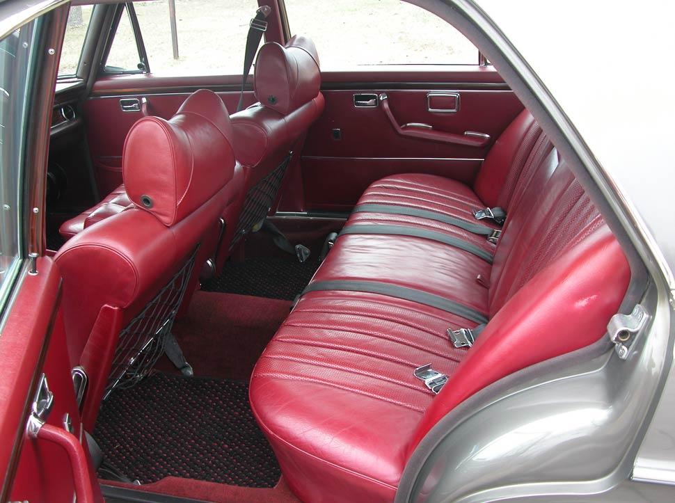 Mercedes 6.3 Interior