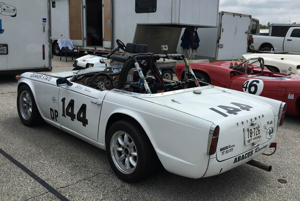Triumph TR4 Race Car Bob Tullius Group 44
