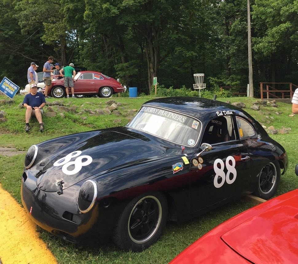 Porsche 356 Roadtrip to the WeatherTech International