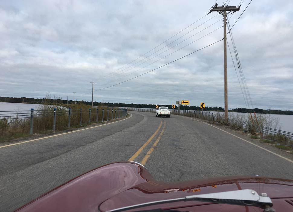 Porsche 356C Road Trip Road America