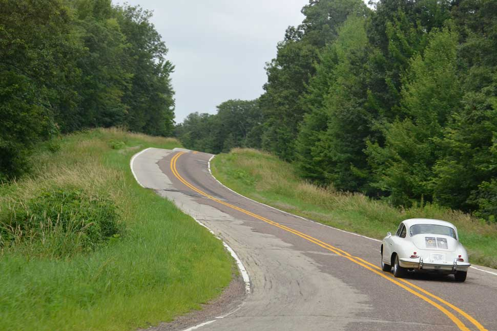 Porsche-356-Light-Ivory-Driving-Road-America-Road-Trip1